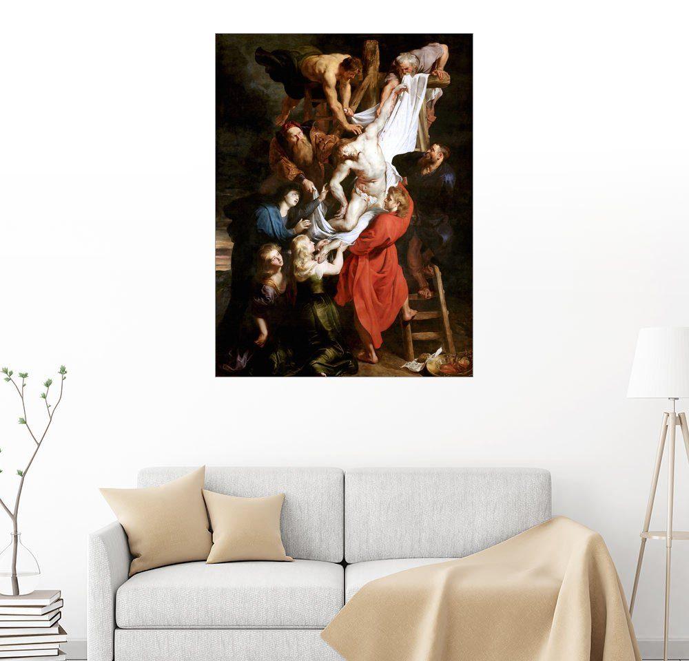 Posterlounge Wandbild - Peter Paul Rubens »Die Kreuzabnahme«
