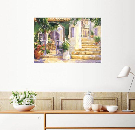 Posterlounge Wandbild - Paul Simmons »Gartenmauer«