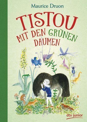 Buch mit Leinen-Einband »Tistou mit den grünen Daumen«