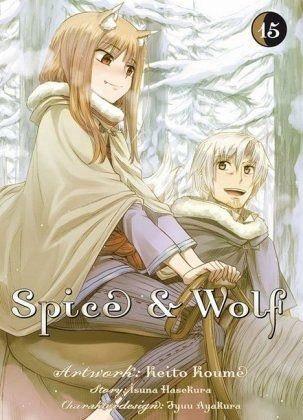 Broschiertes Buch »Spice & Wolf«