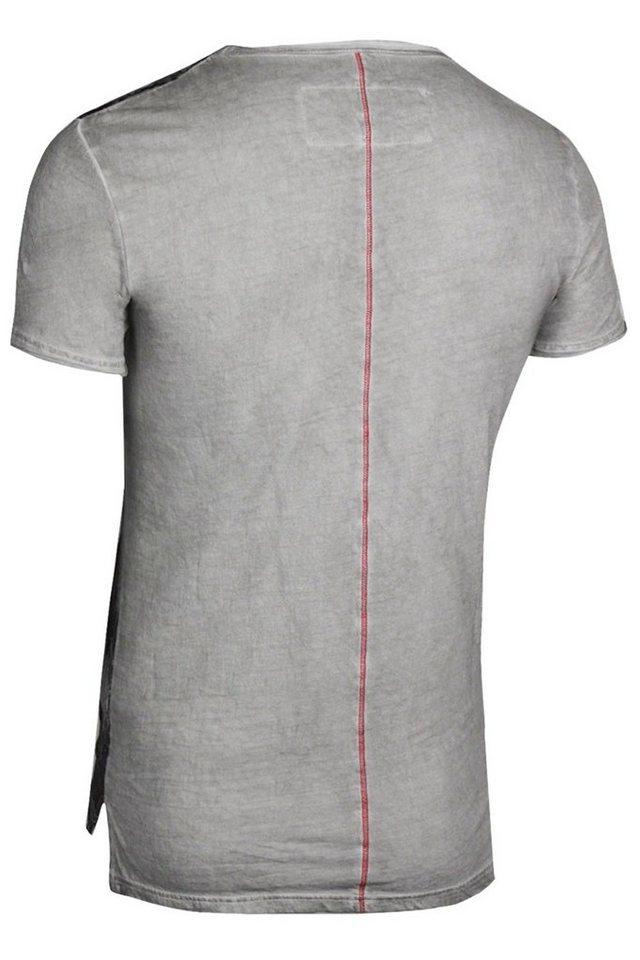 - Herren trueprodigy T-Shirt Lost in Black blau | 04057124029376