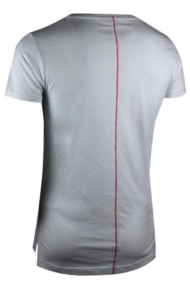 - Herren trueprodigy T-Shirt Lionhead weiß | 04057124031713