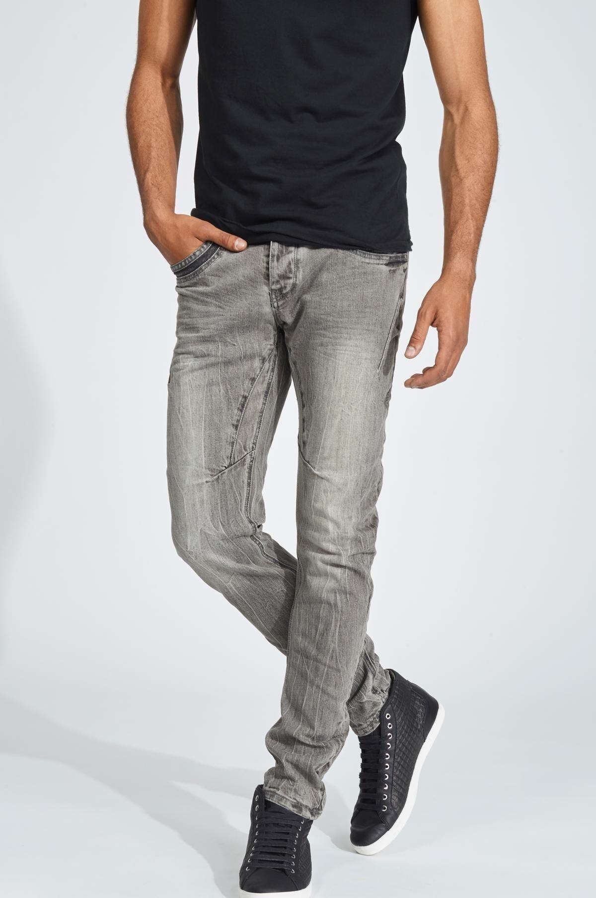 Herren trueprodigy Tapered-fit-Jeans Vex #601 blau, grau | 04057124021714
