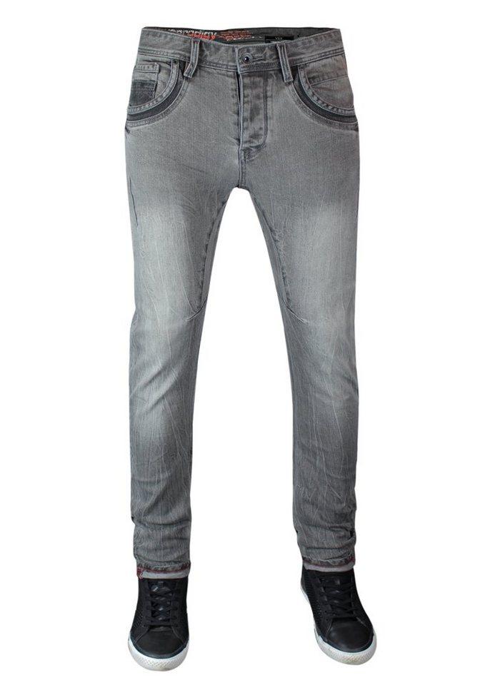 - Herren trueprodigy Tapered-fit-Jeans Vex #601 blau, grau | 04057124021714
