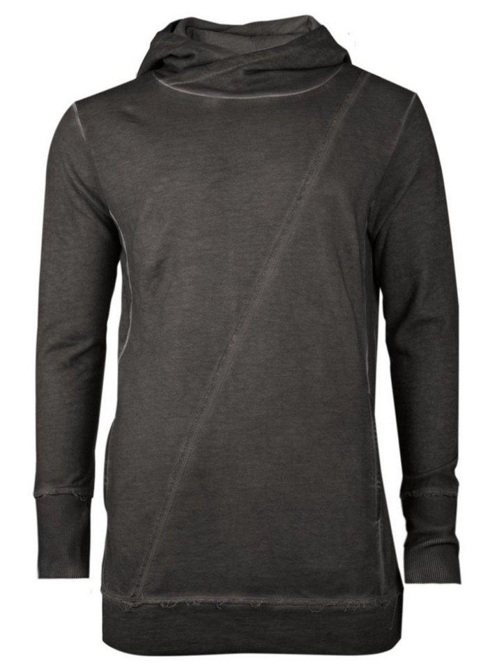 - Herren trueprodigy Kapuzensweatshirt Diagonally grau   04057124015089