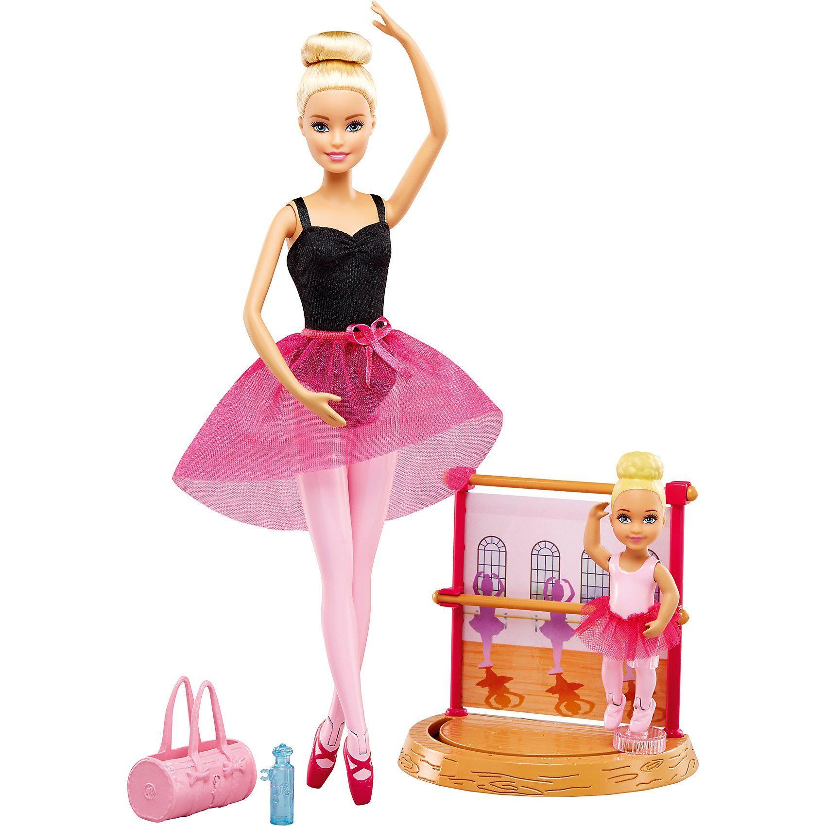 Mattel® Barbie Ballettlehrerin Puppe und Spielset