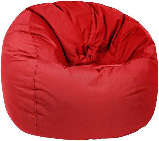 OUTBAG Sitzsack »Donut Plus« (1 St), wetterfest, für den Außenbereich