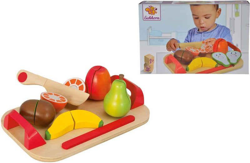 Eichhorn Spiellebensmittel »Holzfrüchte auf Brett«, (12-tlg)