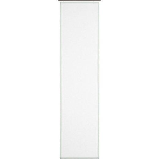 """Schiebegardine »Schiebevorhang """"Peru"""" in Leinenoptik, 60x245cm«, Gözze"""