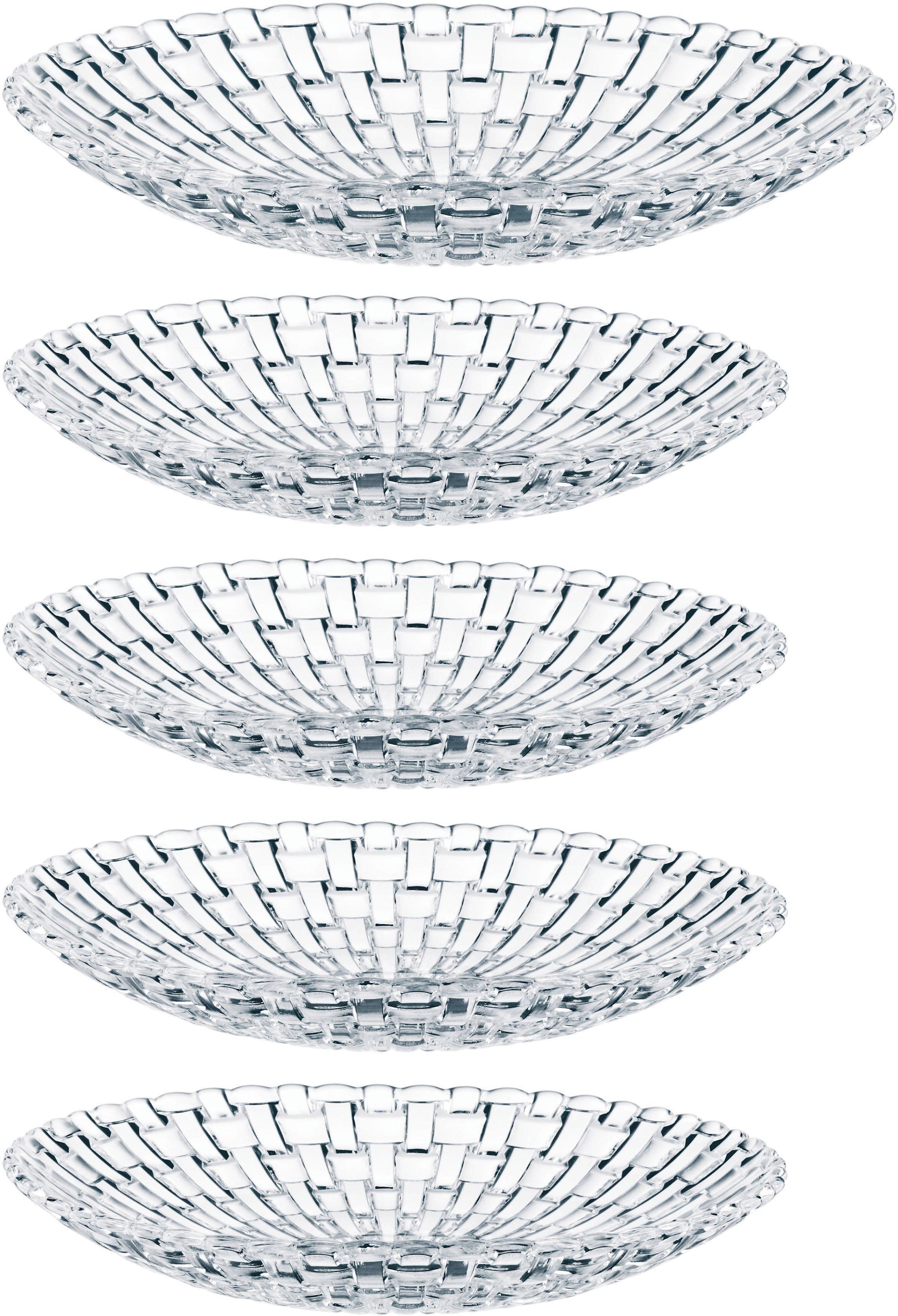 Nachtmann Schalen-Set, 5-teilig, Kristallglas, »Bossa Nova«