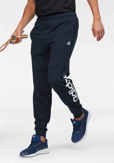 939a1365cacd82 adidas Performance Jogginghose »ESSENTIALS LINEAR TAPERED PANT FRENCH  TERRY« mit Logoschriftzug am Hosenbein