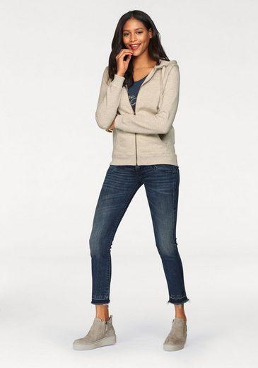 Mit Offenem »piper Cropped« Herrlicher Saumabschluss Ausgefransten fit Slim Waist jeans Low Slim tq8zOFp8w