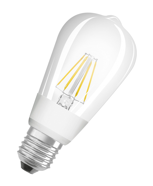 Osram LED Superstar CLASSIC, LED Filament Lampe, dimmbar »SST CLAS ST 60 7 W/827 E27 GLOWdim«
