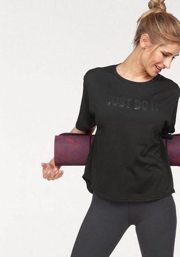 Nike Funktionsshirt »WOMEN NIKE DRY TOP SHORT SLEEVE«