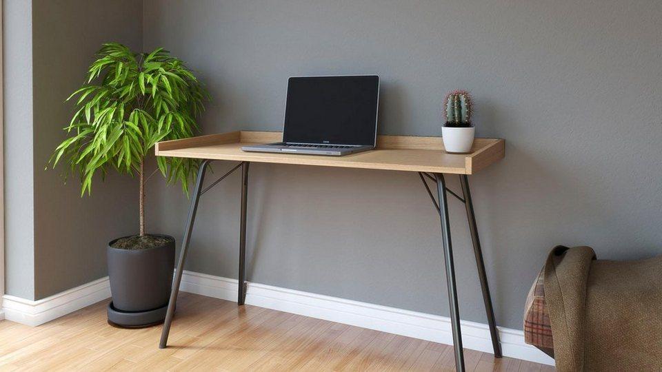Woodman Schreibtisch »Rayburn« im schlichten skandinavischen Design ...