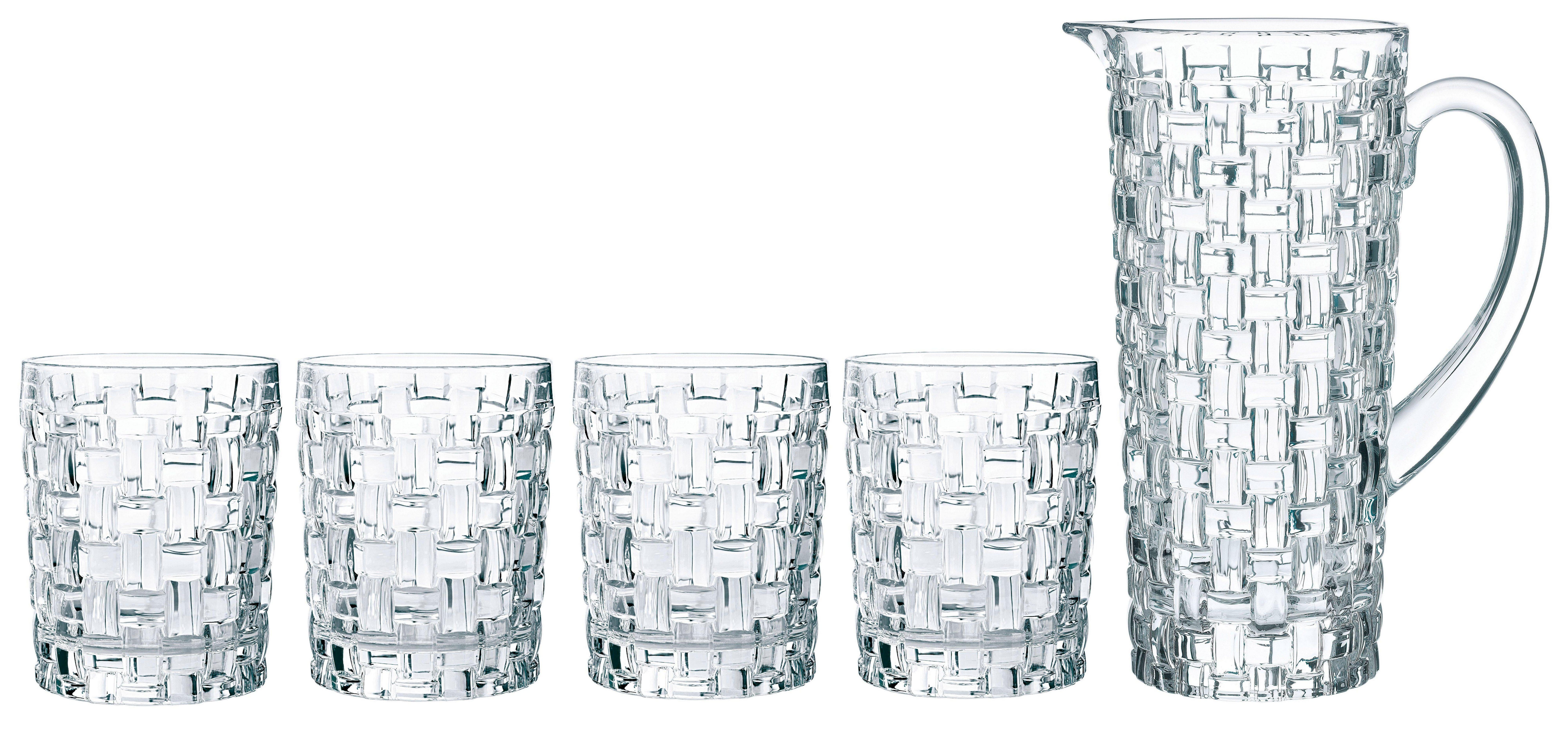 Nachtmann Glas »Bossa Nova« (5-tlg), Kristallglas