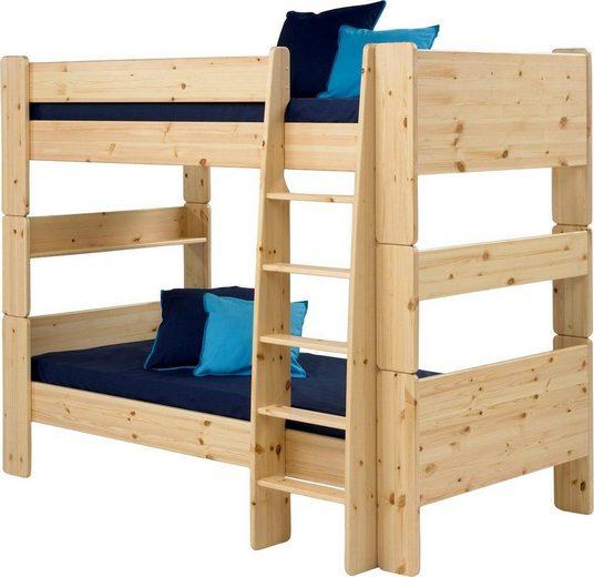 STEENS Etagenbett »FOR KIDS«, mit Leiter, in verschiedenen Farben