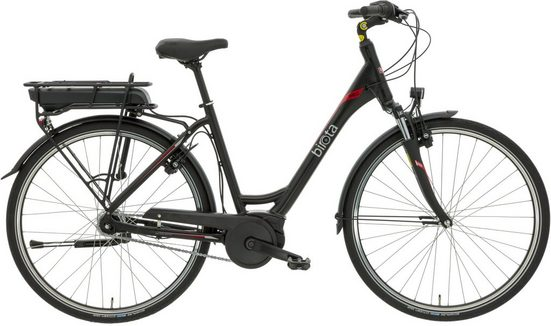 Birota E-Bike »Birota 980«, 7 Gang Shimano Nexus 7 Schaltwerk, Nabenschaltung, Mittelmotor 250 W