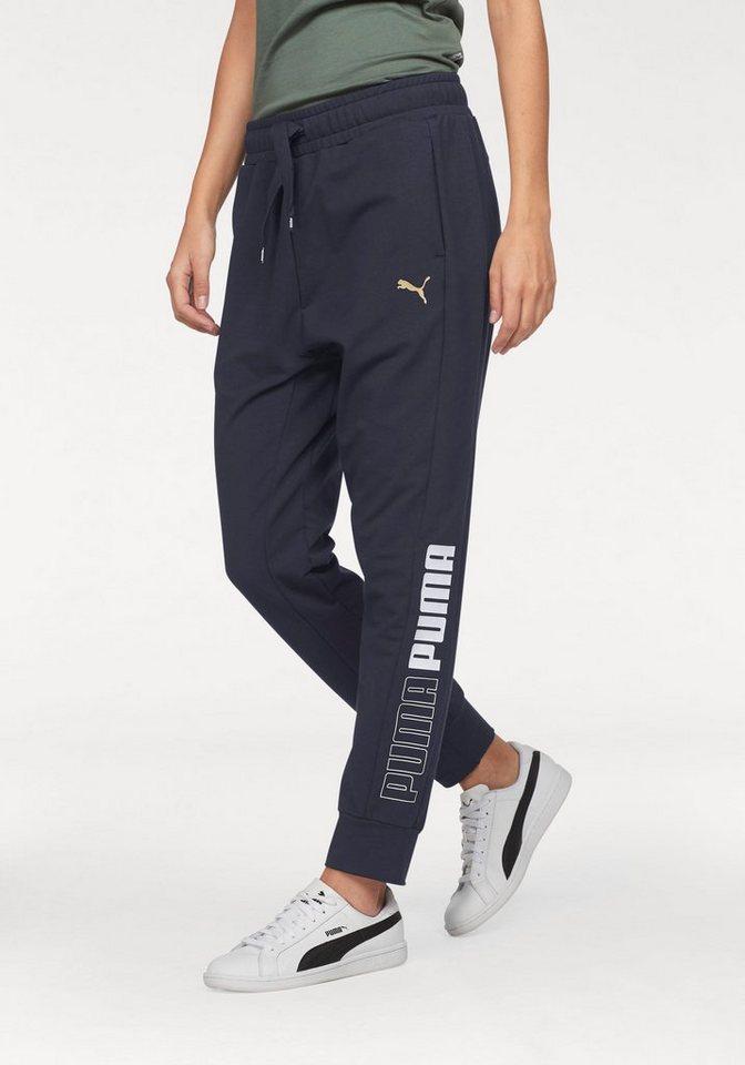PUMA Jogginghose »MODERN SPORT TRACK PANTS«   Sportbekleidung > Sporthosen > Jogginghosen   Blau   PUMA