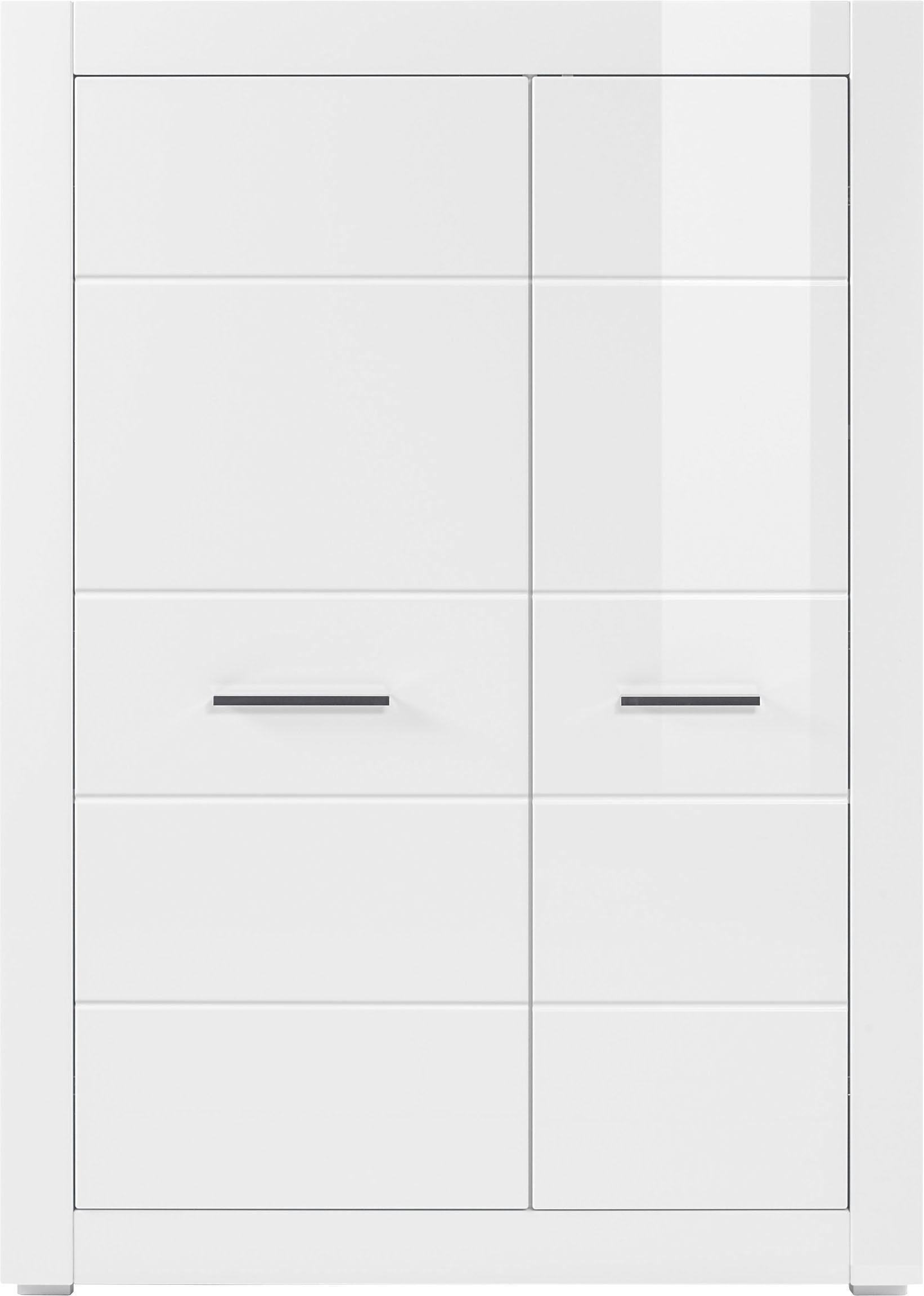 Stauraumschrank »BIANCO«, Höhe 142 cm