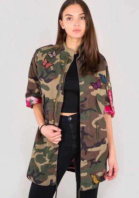 Alpha Industries Fieldjacket »Military Kimono Wmn« | Bekleidung > Jacken > Kimono-Jacken | alpha industries