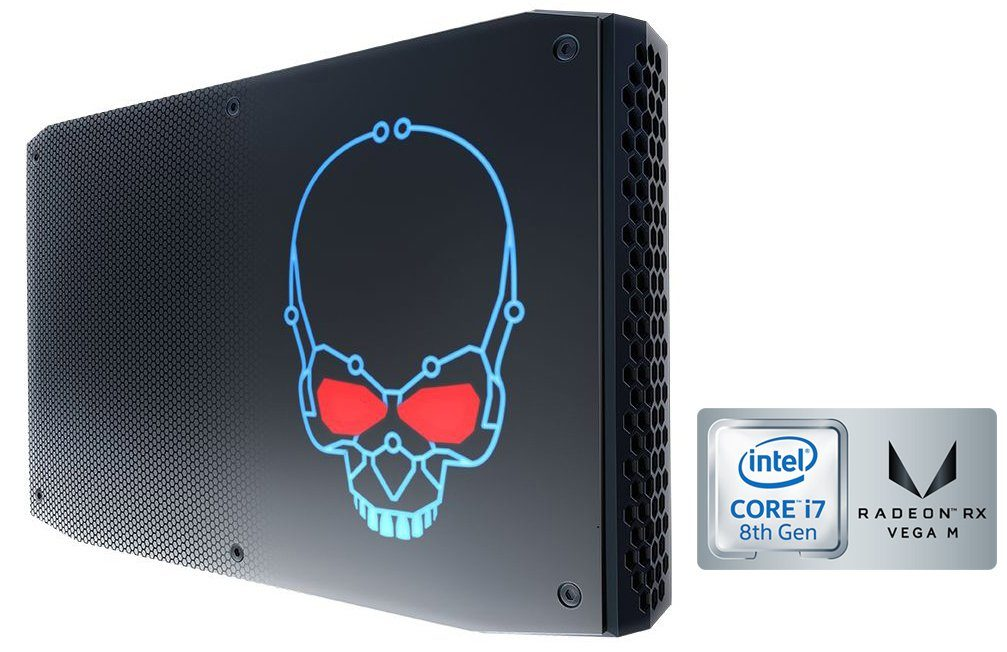 HYRICAN Gaming Mini PC i7 8809G, 16GB, 1TB SSD, Radeon RX Vega M GH »Striker Mini 5935«