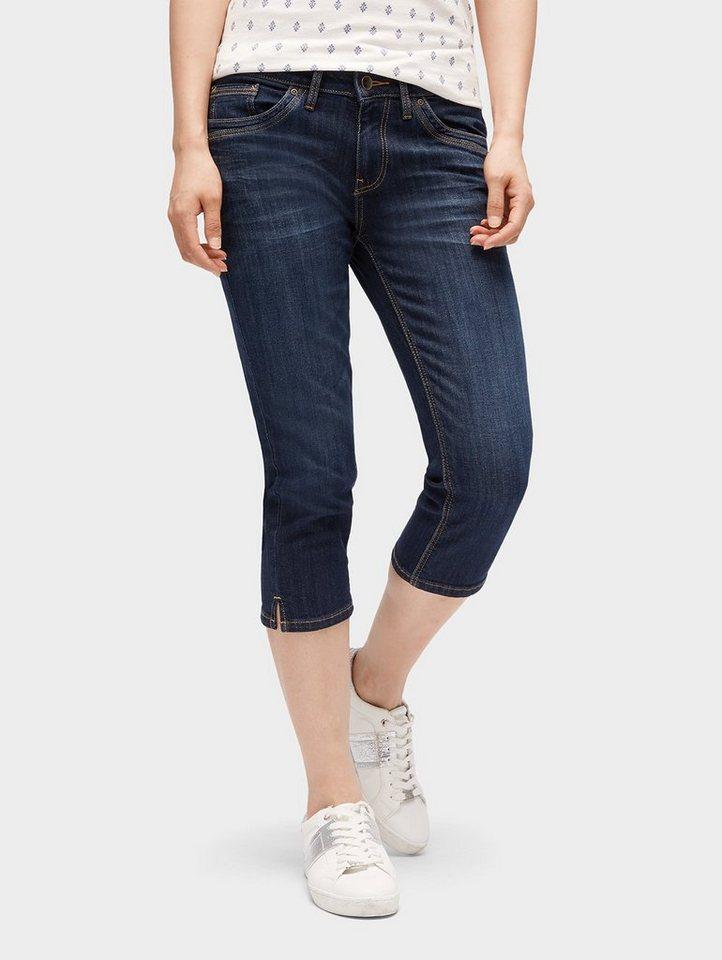 Tom Tailor Slim-fit-Jeans »Alexa Slim Capri Jeans« | Bekleidung > Jeans > Caprijeans | Blau | Tom Tailor