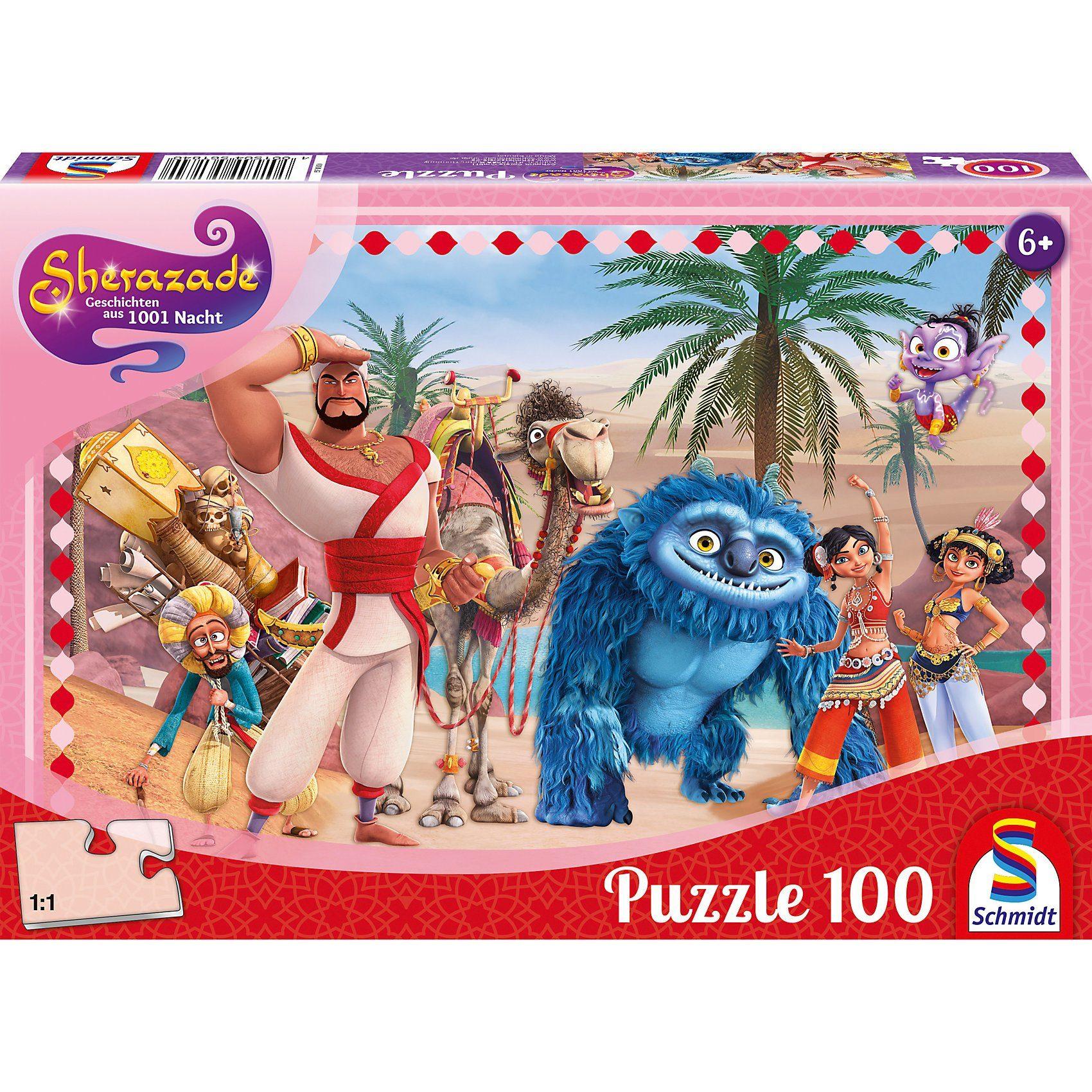 Schmidt Spiele Puzzle 100 Teile Sherazade Geschichten aus 1001 Nacht