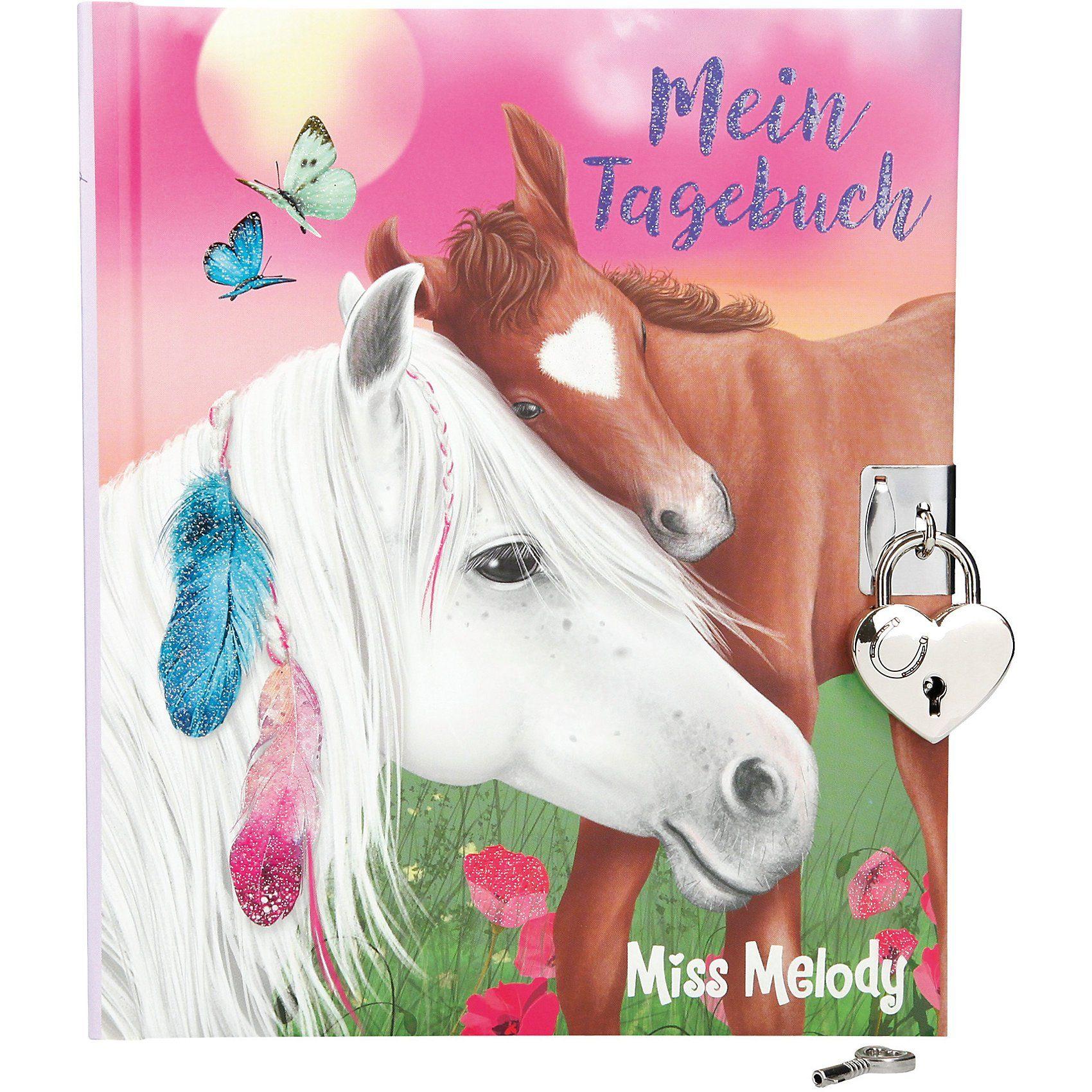 Depesche Tagebuch mit Stickern Miss Melody