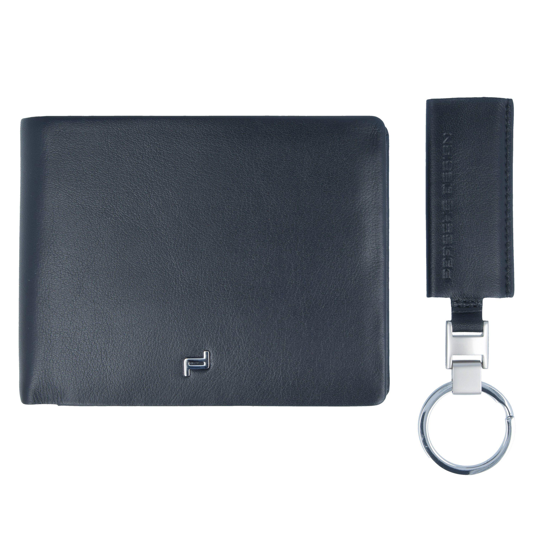 PORSCHE Design Touch Geldbörse und Schlüsseanhänger Leder 12,5 cm