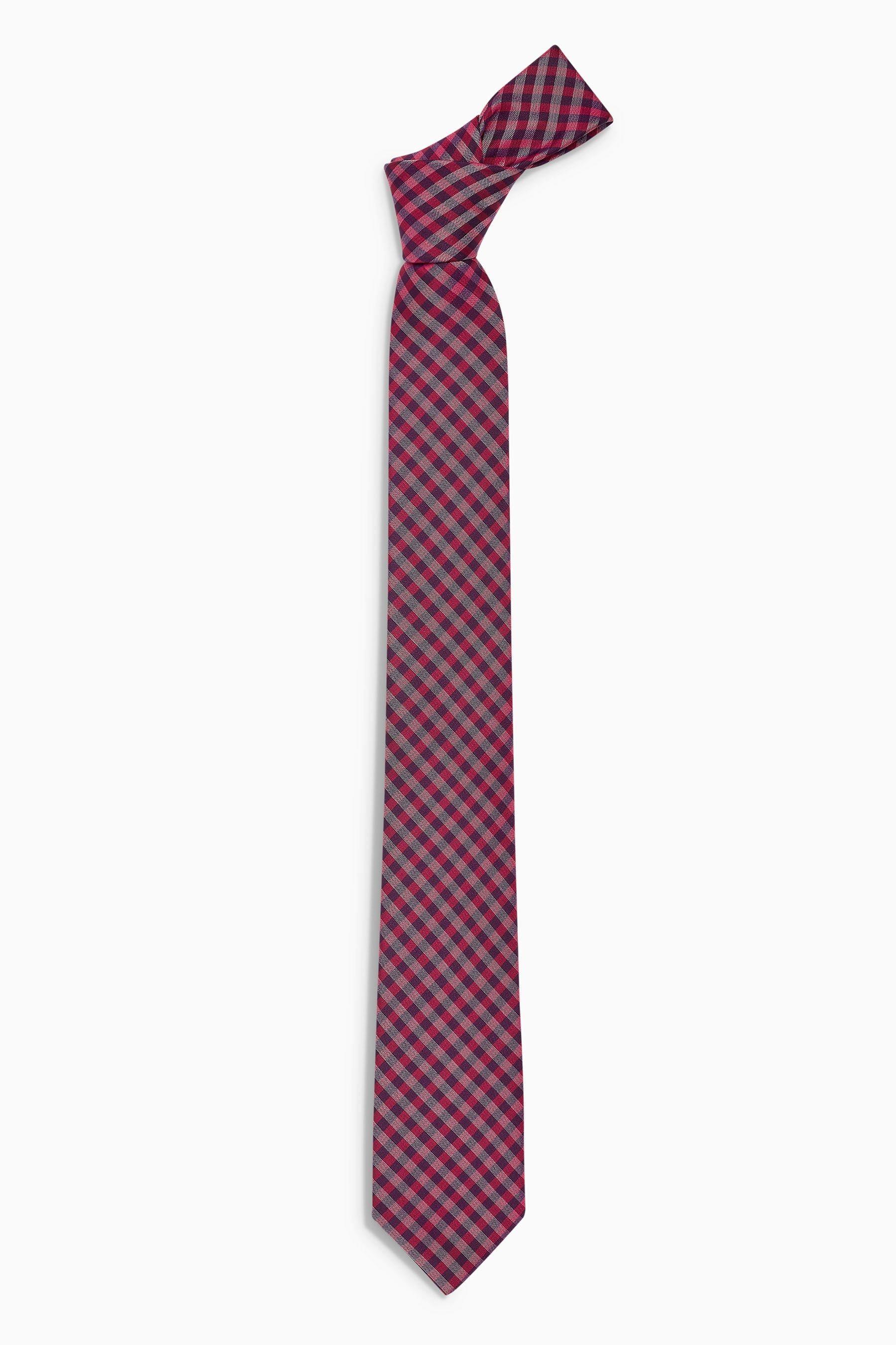 Next Krawatte mit Vichykaros | Accessoires > Krawatten > Sonstige Krawatten | Next