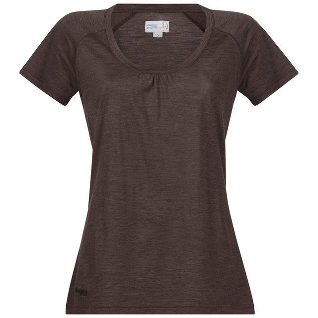 Damen Bergans T-Shirt braun | 07031581856611