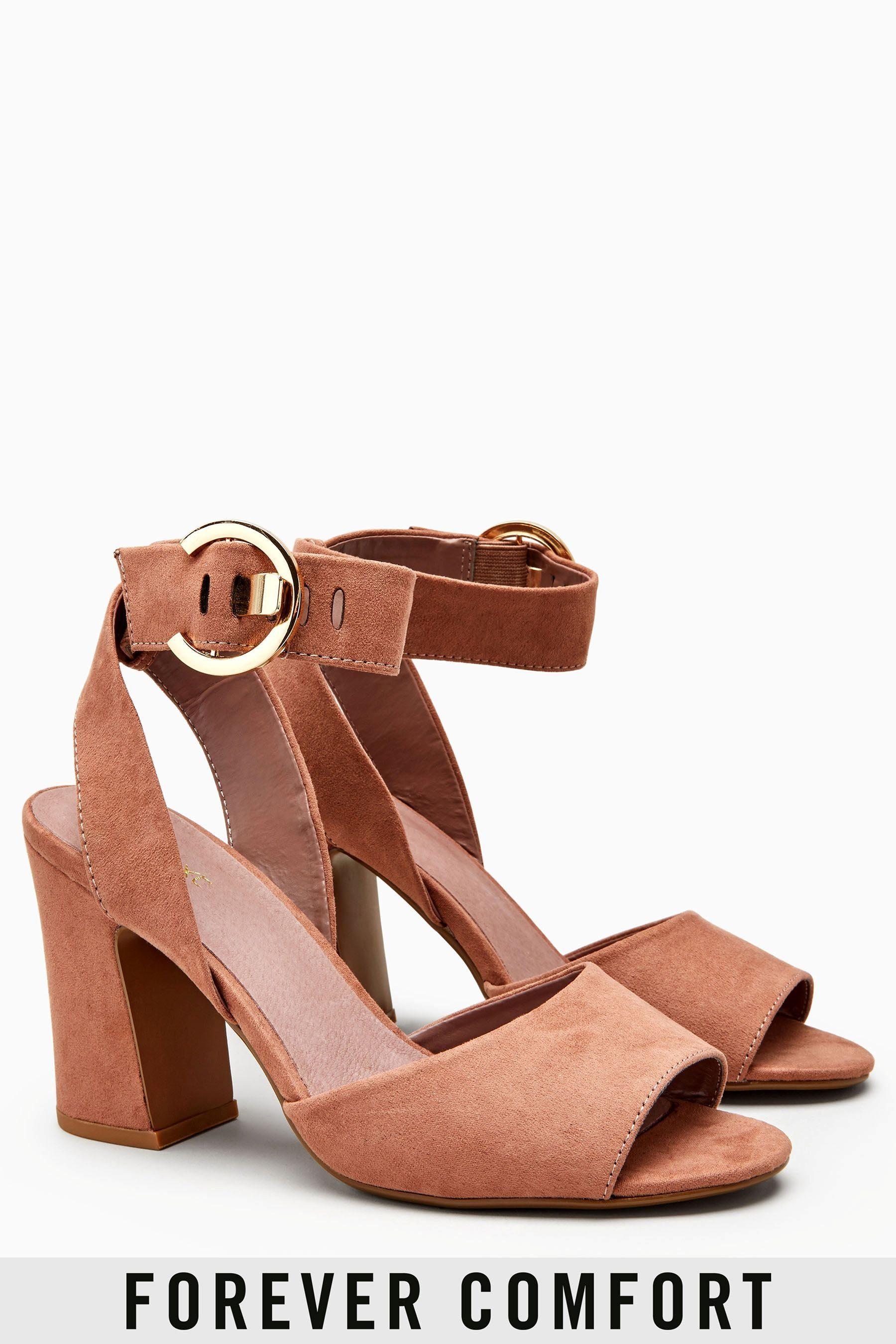 Next Sandale mit Schnallen online kaufen  Blush