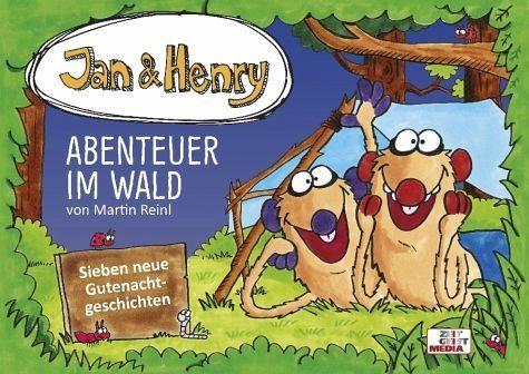 Gebundenes Buch »Jan & Henry - Abenteuer im Wald«