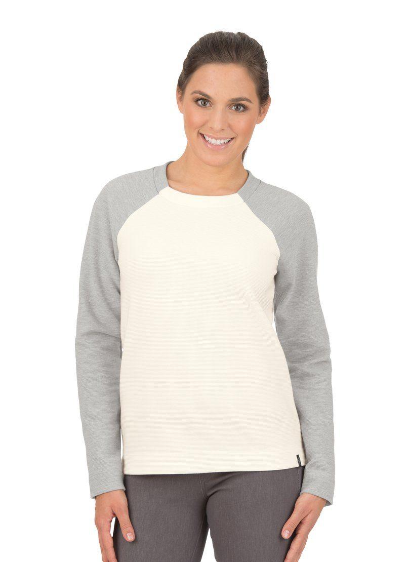 TRIGEMA Raglan-Pullover