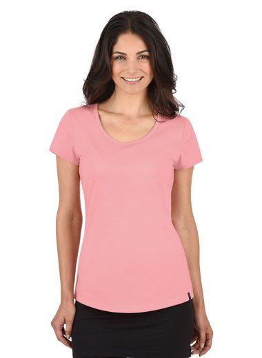 TRIGEMA T-Shirt Slim Fit aus Baumwolle