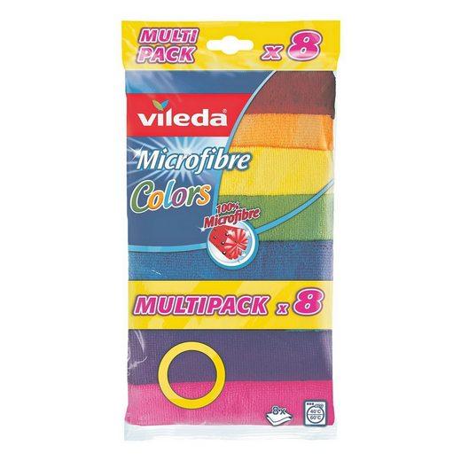 Vileda Mikrofasertücher »Colors Multipack«