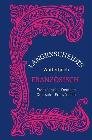 Buch mit Leinen-Einband »Langenscheidts Wörterbuch Französisch -...«