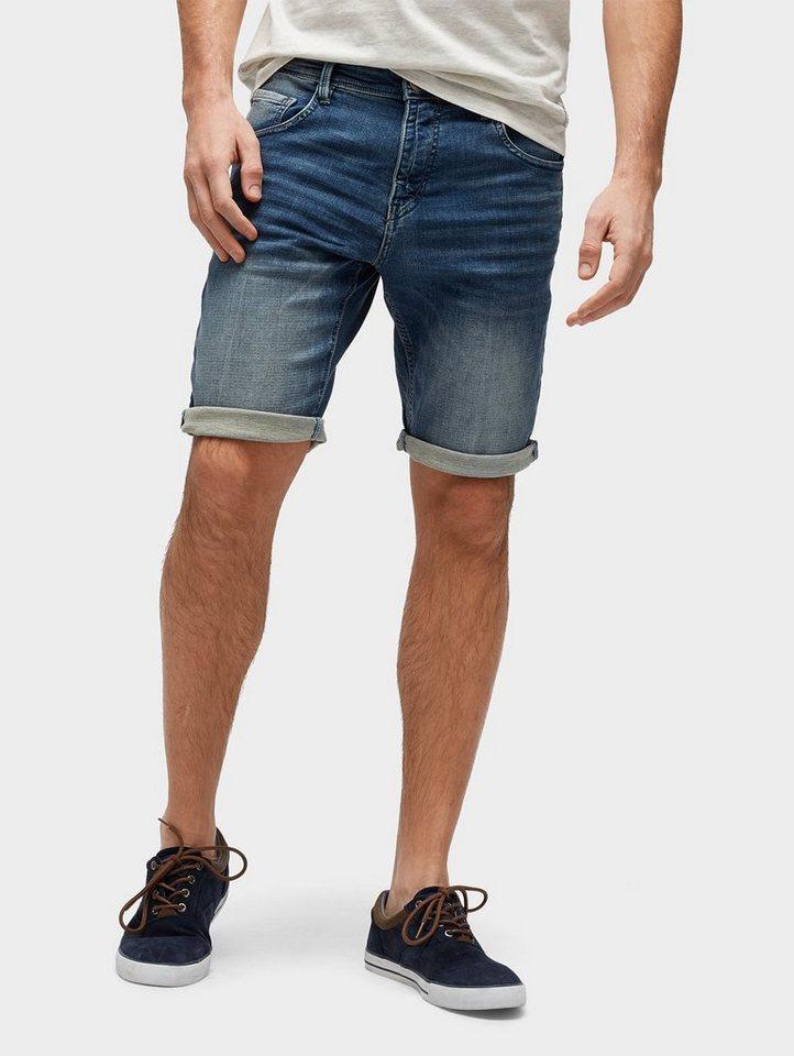 tom tailor jeansbermudas troy slim bermuda shorts aus. Black Bedroom Furniture Sets. Home Design Ideas