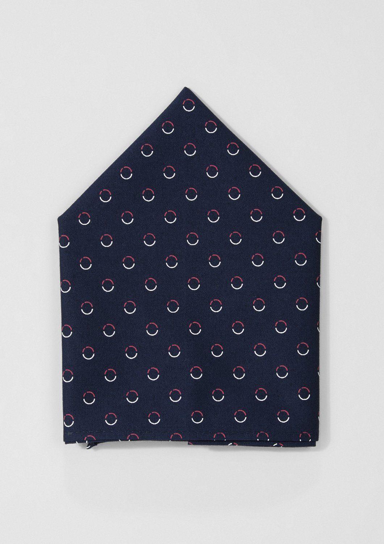 s.Oliver BLACK LABEL Einstecktuch mit feinem Muster