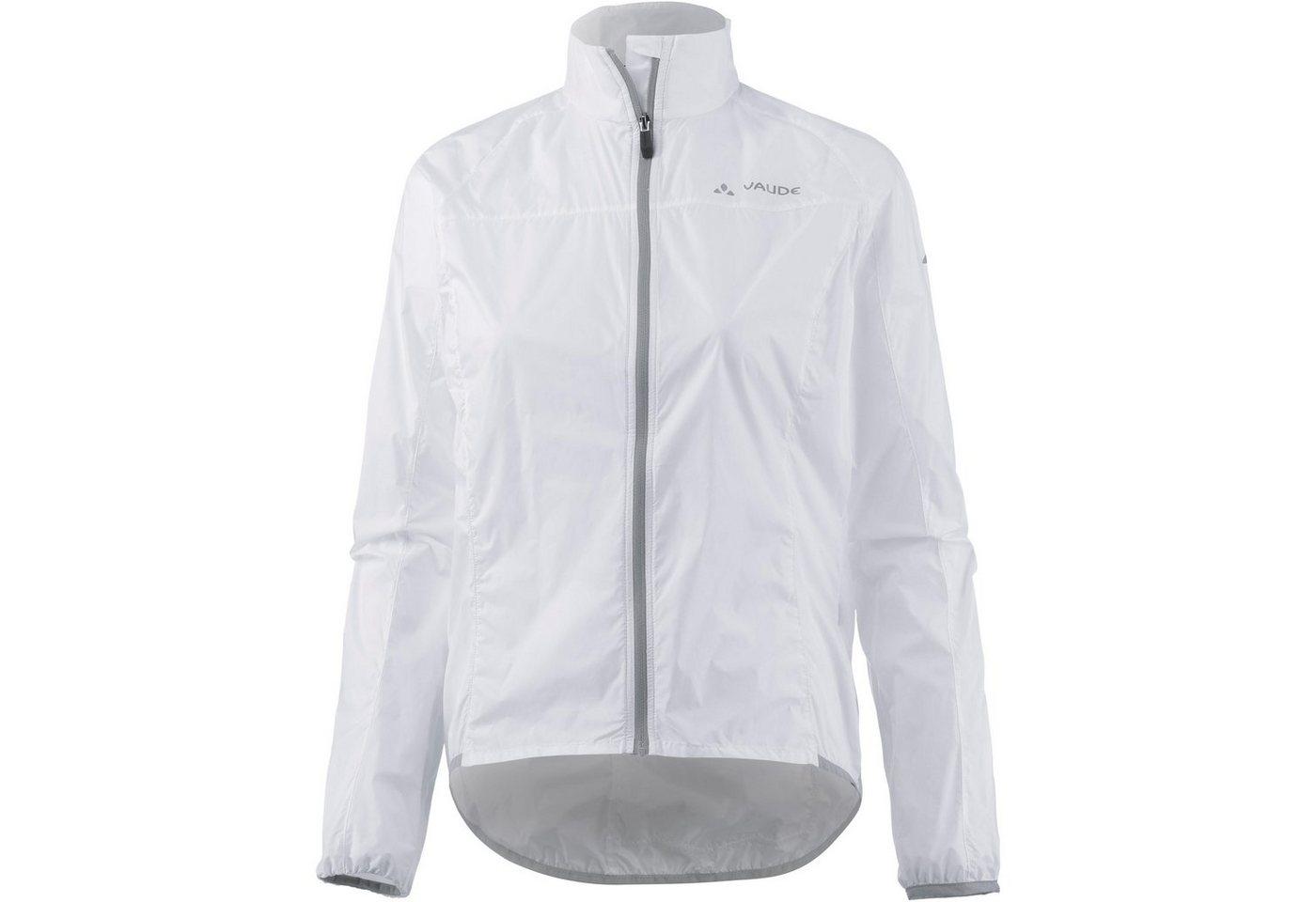 VAUDE Fahrradjacke »Air III« | Sportbekleidung > Sportjacken > Fahrradjacken | Weiß | Polyamid | VAUDE