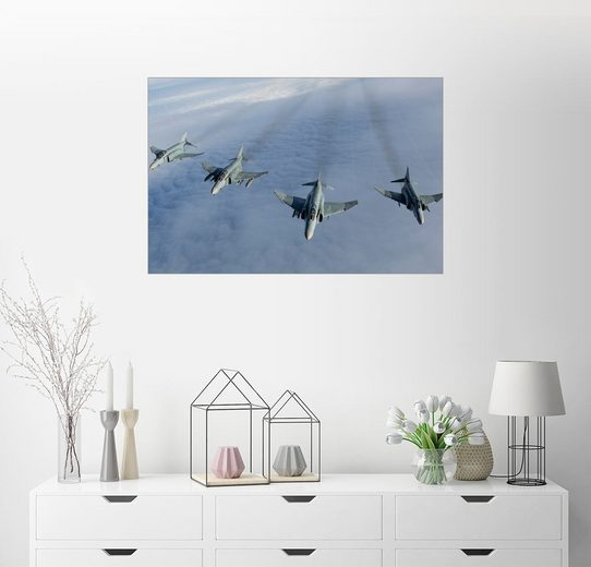 Posterlounge Wandbild - Gert Kromhout »Formation Luftwaffe F-4F Phantom II«