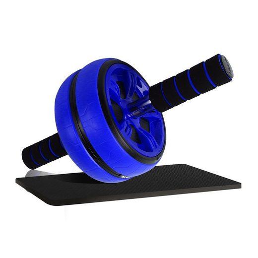 BIGTREE AB-Roller »Bauchtrainer für Muskelntraining«, Fitness für Zuhause, zum Trainieren von Bauch, Rücken & Schultern