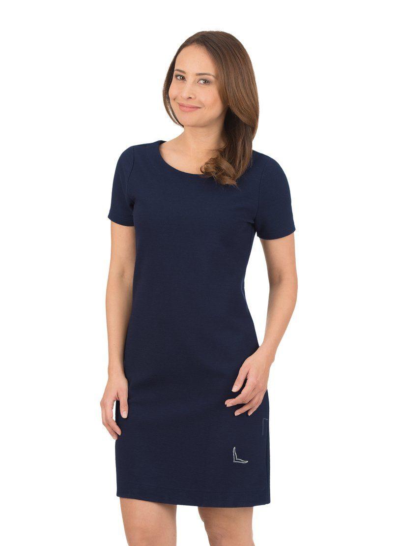 TRIGEMA Halbarm Swarovski® Kleid mit KristallenOTTO 3ALRj4q5