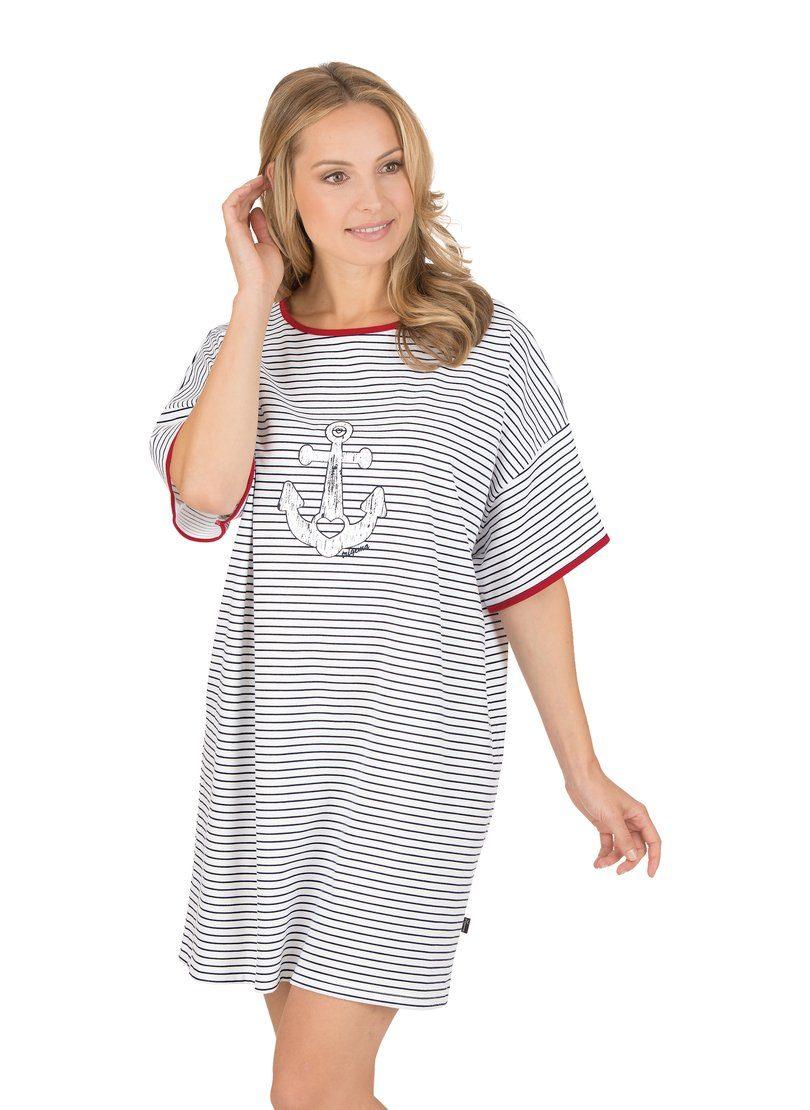 TRIGEMA Big-Shirt mit Anker