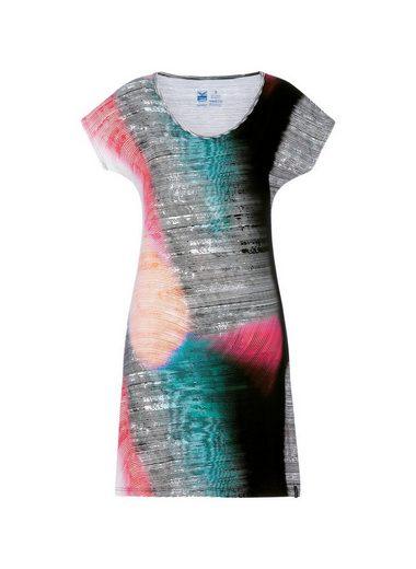 Trigema Viskose Kleid Multicolour