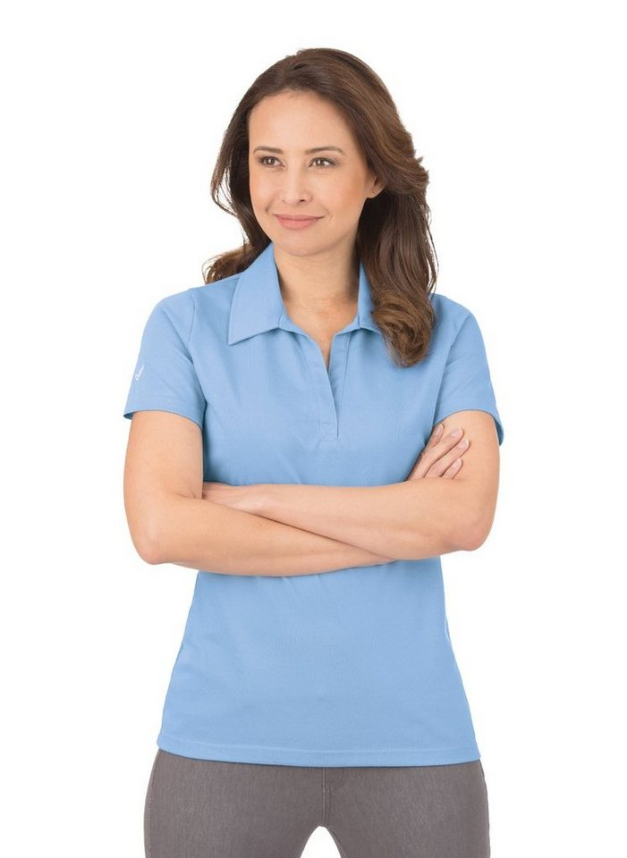 TRIGEMA Poloshirt ohne Knopfleiste online kaufen   OTTO 189ba0bb84
