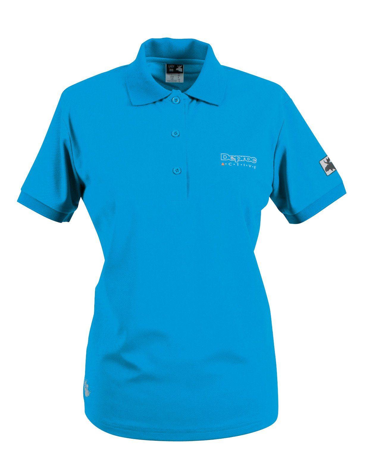 DEPROC Active Poloshirt »HEDLEY WOMEN«