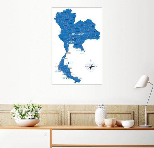 Posterlounge Wandbild »Thailand«