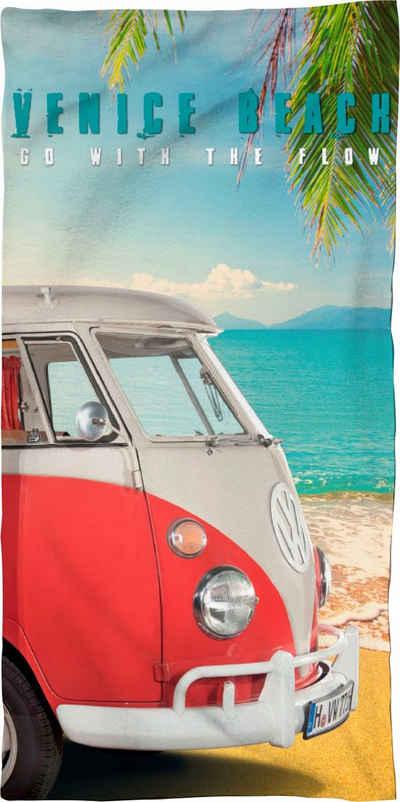 Volkswagen Strandtuch »Venice Beach« (1-St), mit Bulli
